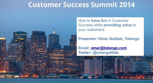 How to have fun in customer success