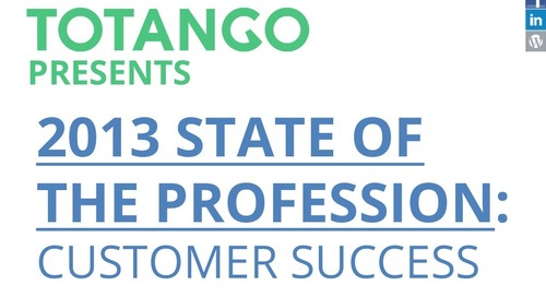 2013 Customer Success Salary Survey Report