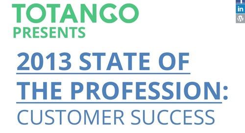 2013 Customer Success Salary Survey Report