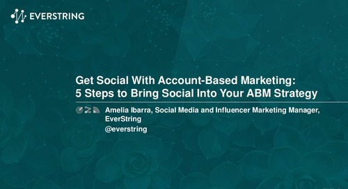 Get Social With Account-Based Marketing