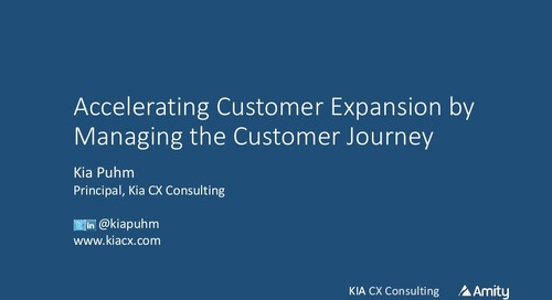 Accelerating Customer Expansion by Managing the Customer Journey Webinar Slides