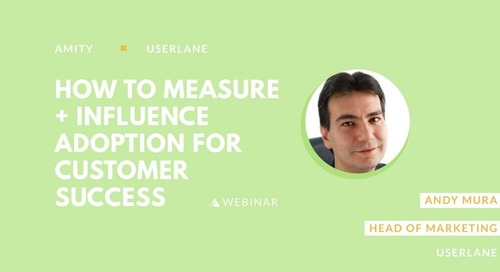 How to Measure and Influence Product Adoption for Customer Success Slides
