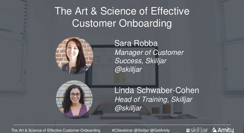 The Art and Science of Effective Customer Onboarding Slides