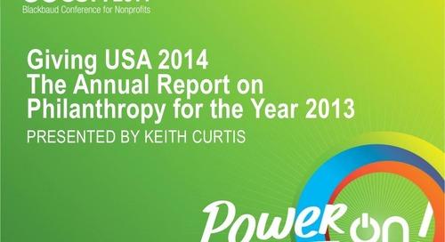 Giving USA 2014