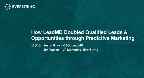 How LeadMD Doubled Qualified Leads and Opportunities with Predictive Marketing