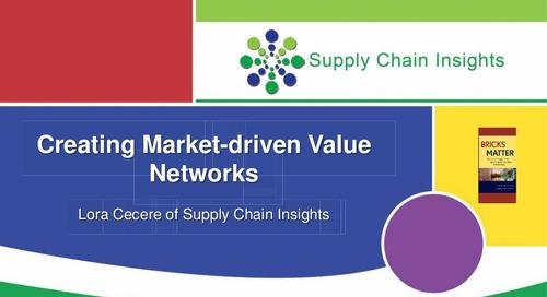 """inSIGHT 2013 Lora Cecere """"Market Driven Value Networks"""""""