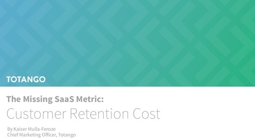 Customer Retention Cost Report