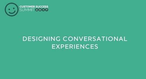 Designing conversational experiences