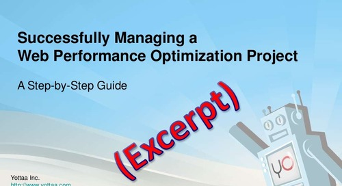 Managing a Website Performance Optimization (WPO) Project