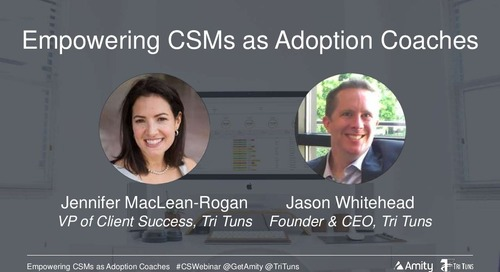 Empowering Customer Success Managers as Adoption Coaches Webinar Slides