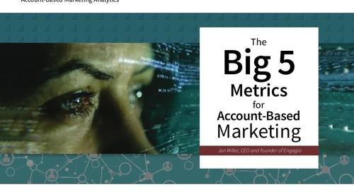 Big 5 Metrics for Account-Based Marketing (ABM)