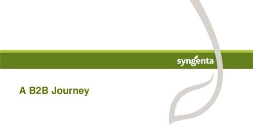 """Gene Joswick  """"A B2B Journey"""""""