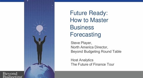 Host Analytics Future of Finance Tour: Steve Player
