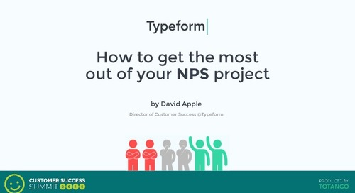 How to Get the Most Out of Your NPS Project