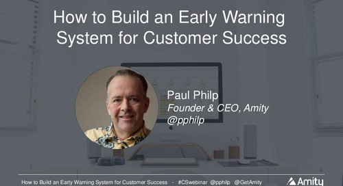 How to Build an Early Warning System for Customer Success