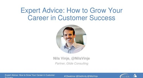 How To Grow Your Career In Customer Success Webinar Slides