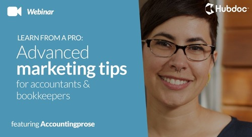 Advanced Marketing Tips for Accountants & Bookkeepers