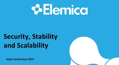 """Ignite2015 EU Technology Breakout Session """"Security, Stability and Scalability"""" Slides"""