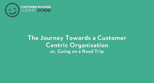 Lessons Learned Transforming Eloqua into a Customer-Centric Organization