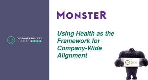 Using Health as the Framework for Company-Wide Alignment
