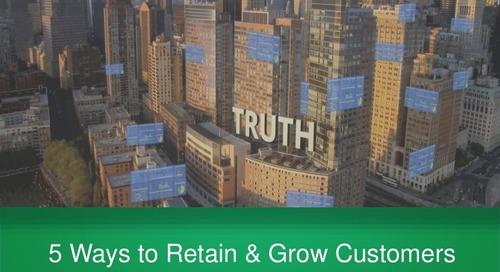 5 Ways to Retain & Grow Customers through Customer Success