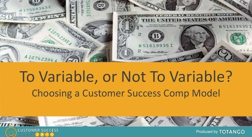 TO VARIABLE, OR NOT TO VARIABLE?  CHOOSING A CSM COMP MODEL