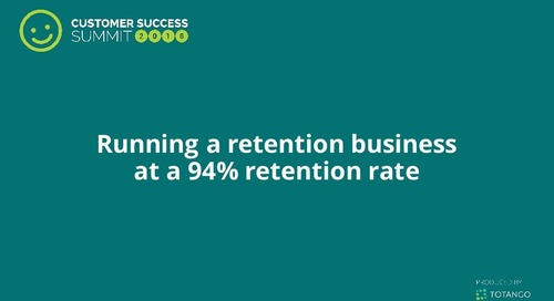 Running a Retention Business at a 94% Retention Rate