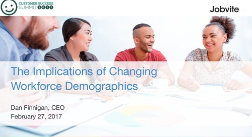 The Implications of Changing Workforce Demographics