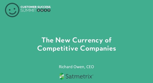 The New Currency of Competitive Companies