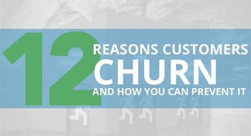 12 Reasons Customer Churn