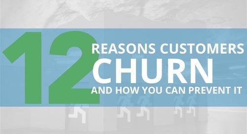 12 Reasons Customer Churn