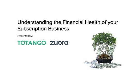 Understanding the Financial Health of your Subscription Business