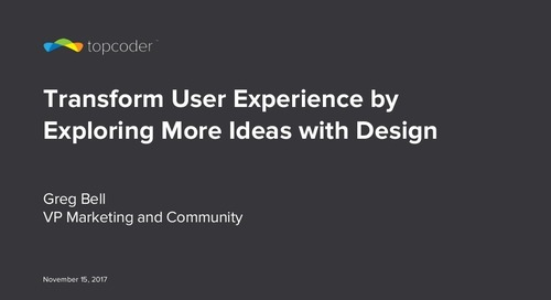 Transform User Experience by Exploring More Ideas with Design