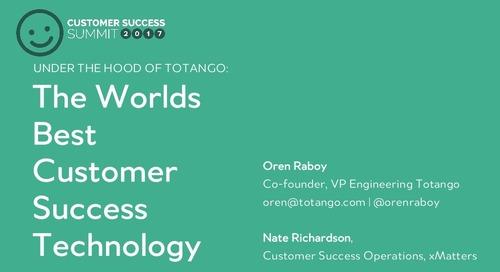 Under the Hood of Totango's Award Winning Technology