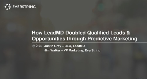 LeadMD Doubles MQLs with EverString Predictive Marketing