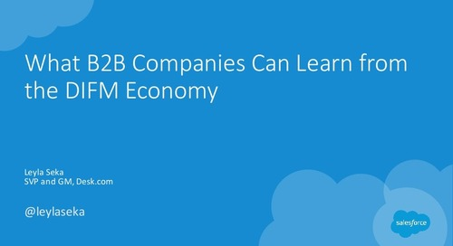 What B2B Companies Can Learn From the DIFM Economy