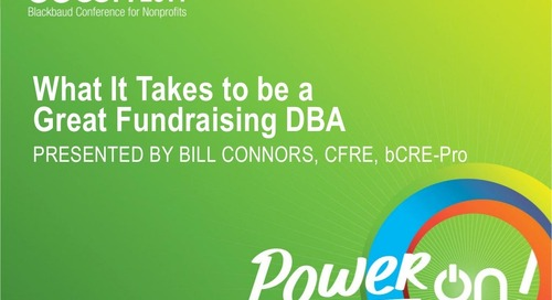 What It Takes to be a Great Fundraising Database Administrator