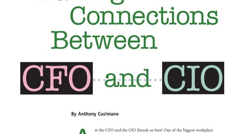 White Paper: Making Connections Between CFO and CIO