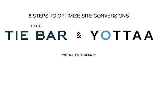Webinar: 5 Ways to Increase Conversions Without a Site Redesign (Recording)