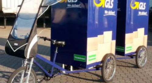 GLS stockt Flotte seiner Lastenräder auf