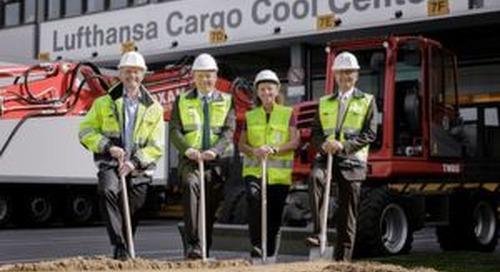 Ausbaustart des Lufthansa Cargo Cool Centers