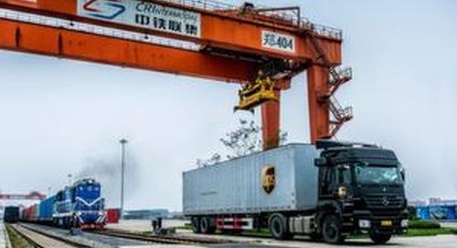 UPS erweitert Bahndienst zwischen China und Europa