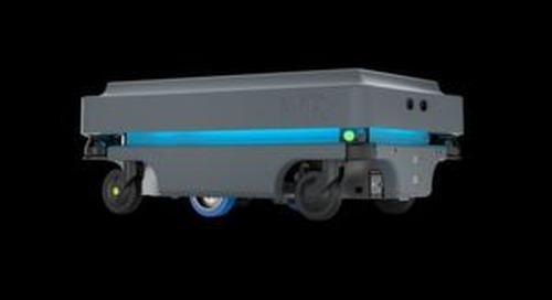 ESD-konformer Mobilroboter transportiert bis zu 200 kg