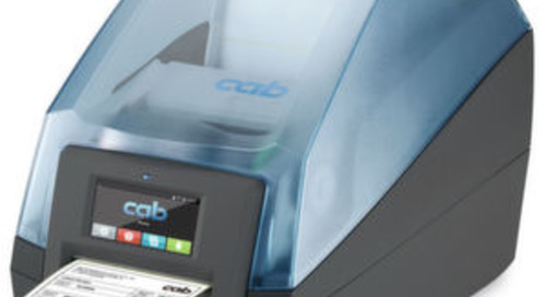 CAB hat neue Etikettendrucker im Gepäck