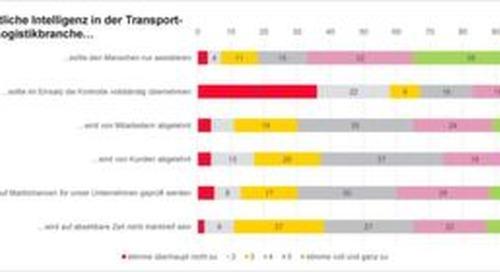 Deutsche Logistik setzt auf künstliche Intelligenz