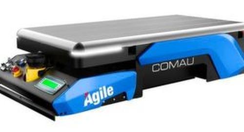 Comau bringt autonome mobile Plattform