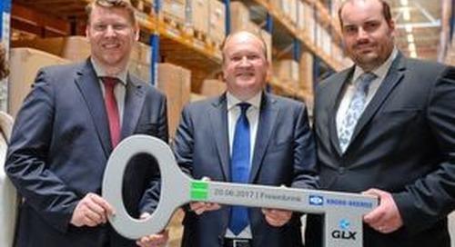 Goodman und GLX Gruppe eröffnen Logistikzentrum im GVZ Berlin Ost Freienbrink