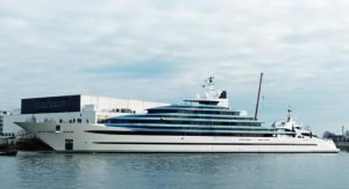 Holland's biggest ever yacht: Oceanco 110-metre Jubilee