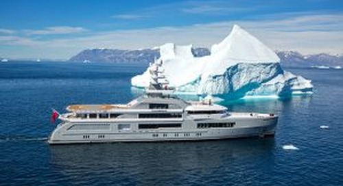 Cruising pictures of amazing 72-metre Cloudbreak