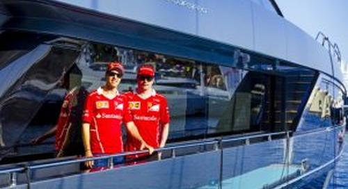 The Riva 100 Corsaro: a 'lucky charm' for Ferrari